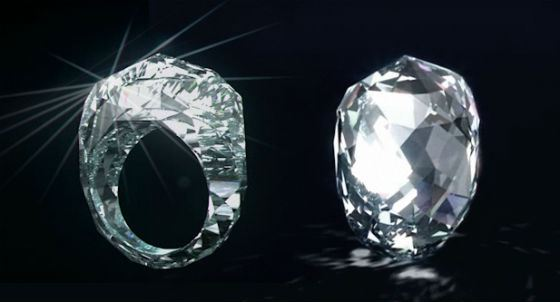 Shawish The World's First Diamond Ring – 150-каратный чистейший самоцвет