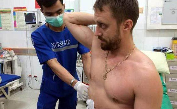 На россиянина напали с ножом в таиландском городе Паттайя