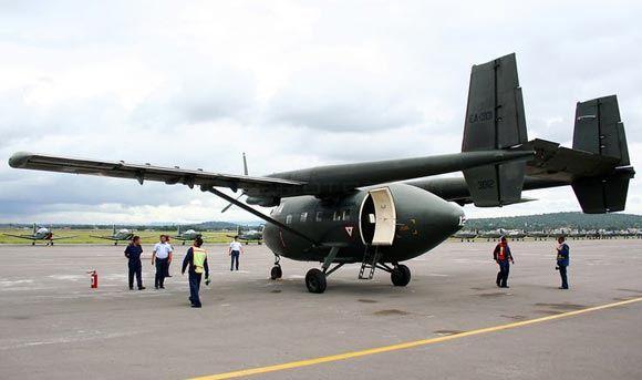 Военный самолет «Арава» упал в Эквадоре: 22 человека погибли