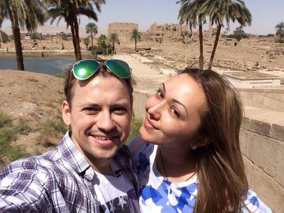 Невеста Андрея Диана Очилова была рядом все время лечения