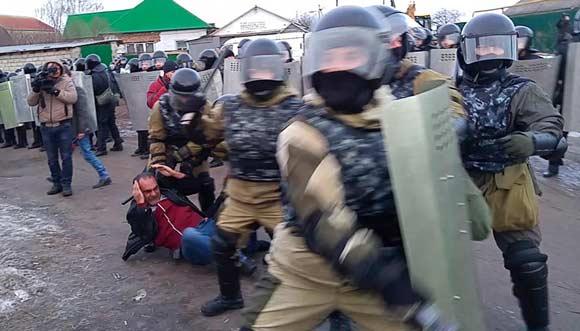 Цыганский бунт подавлен, полиция задержала четырех человек