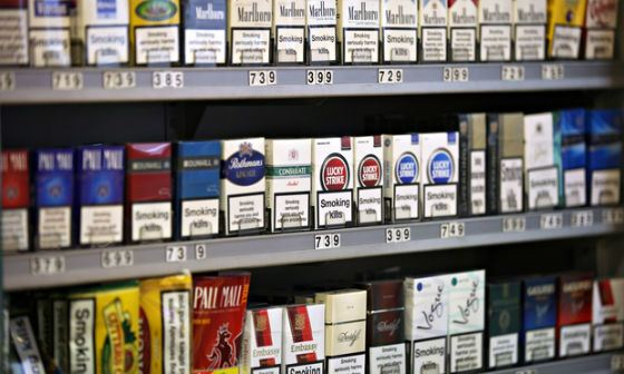 The most expensive cigarettes - in Norway