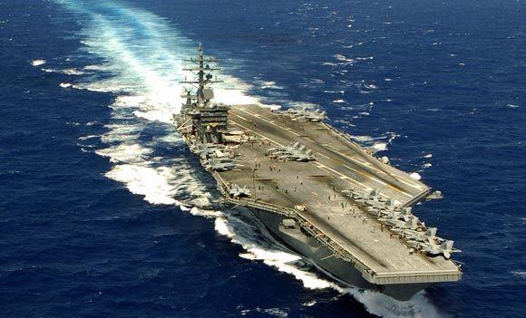 8 моряков получили травмы во время ЧП на авианосцы «Дуайт Эйзенхауэр»
