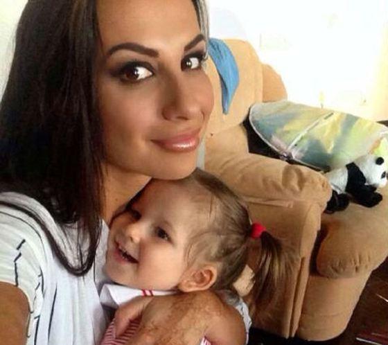Анна с дочерью Василисой