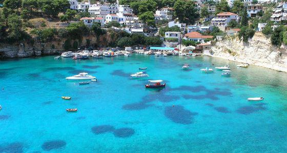 Эгейское море в Греции