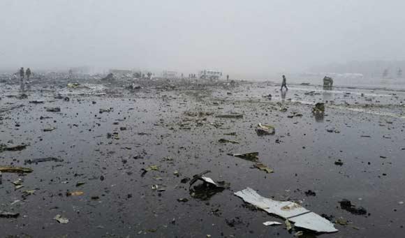 Заклинивший руль высоты мог послужить причиной катастрофы в Ростове