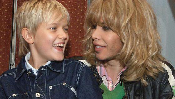 Сергей с сыном