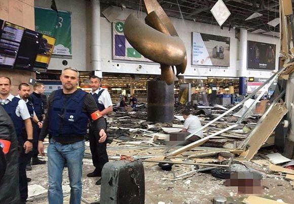 Переживший теракты в Бостоне и Париже юноша пострадал при взрывах в Брюсселе