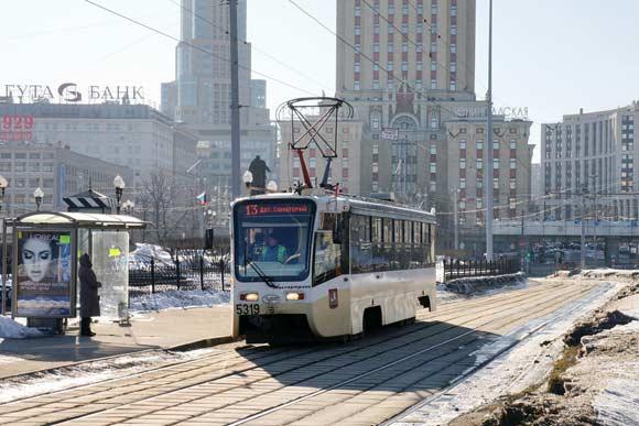 Трамвай, протаранивший «Газель», ехал по Каланчевской улице