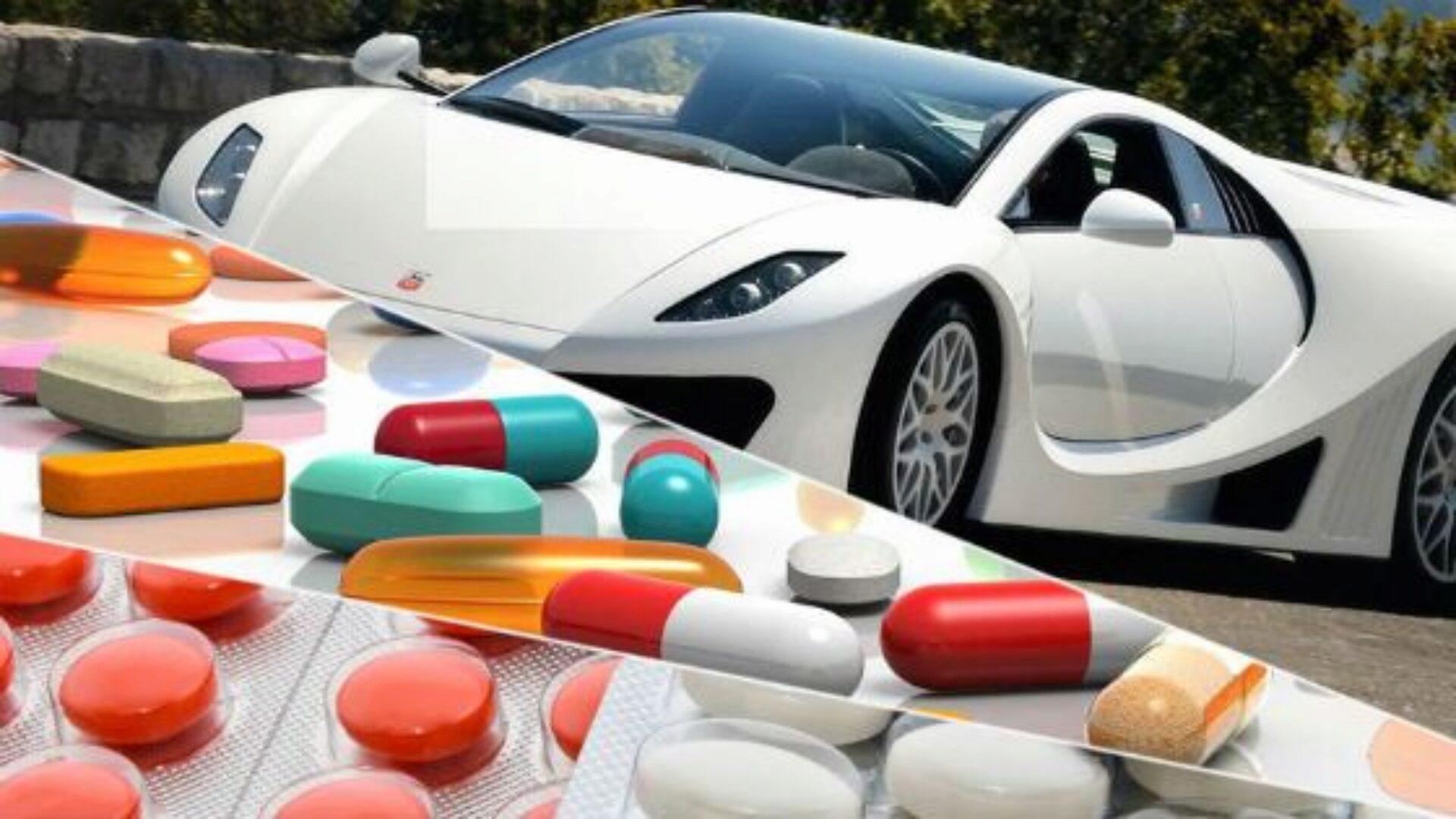 Перечень запрещенных для водителей препаратов достаточно велик
