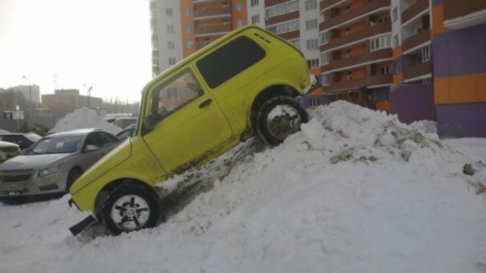 Парктроник поможет избежать неприятных казусов
