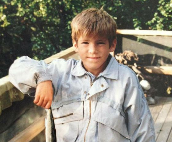 Ryan Reynolds as a child