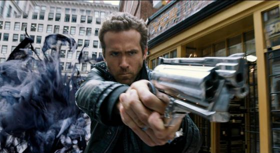 In Criminal Ryan Reynolds demonstrated his combat skills