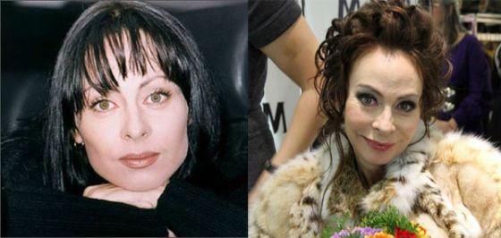 Марина Хлебникова после пластики стала выглядеть старше