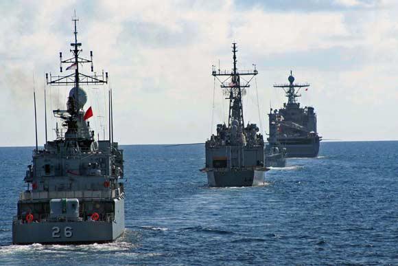 Китайские корабли вторглись в территориальные воды Малайзии