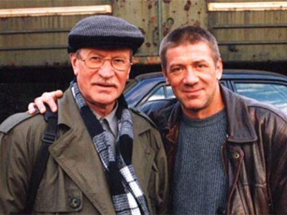 Андрей Краско с отцом