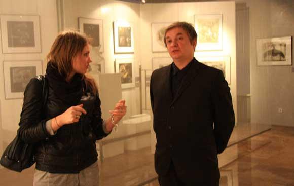 Питерский художник Андрей Хлобыстин разыскивает сына