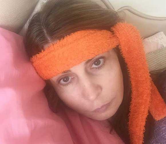 Ирина Агибалова страдает от мигрени