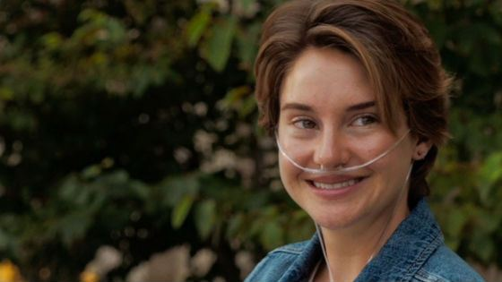 In «The Fault in Our Stars» Shailene Woodley played a cancer patient girl