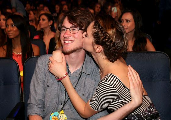 Shailene Woodley and her brother