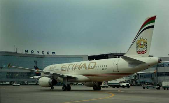 В московском аэропорту совершил нештатную посадку самолет Etihad Airways