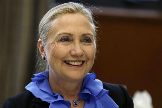 Хиллари Клинтон во время выборов 2016 года