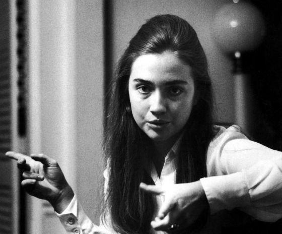 Хиллари Клинтон в годы студенчества