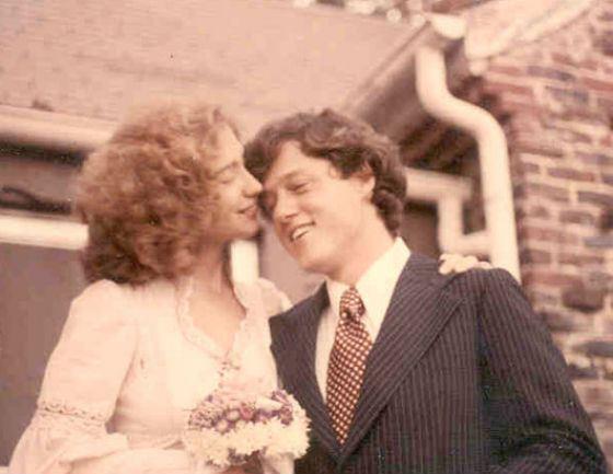 Свадьба Хиллари и Билла Клинтон