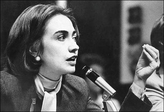 В 1974 Хиллари Клинтон способствовала отставке Ричарда Никсона