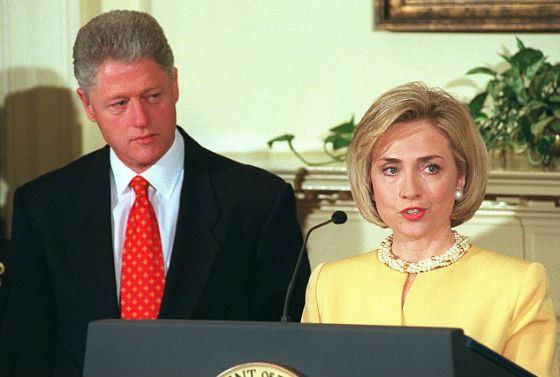 Секс жена билл клинтона