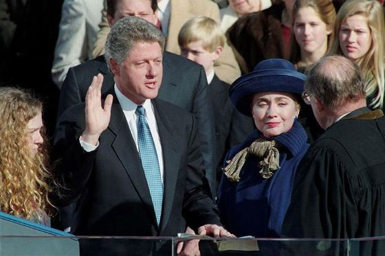 Вторая инаугурация Билла Клинтона произошла незадолго до скандала с Левински