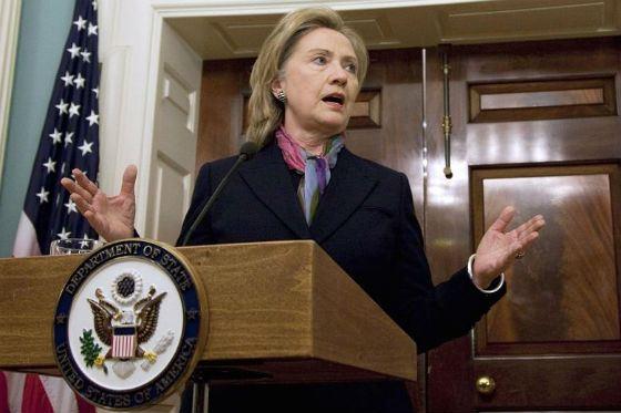 Клинтон на посту госсекретаря