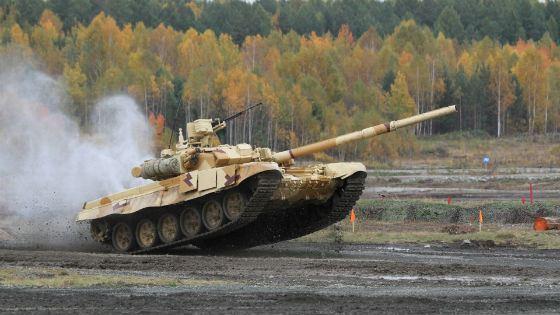 Одна из последних модификаций Т-90 – Т-90С