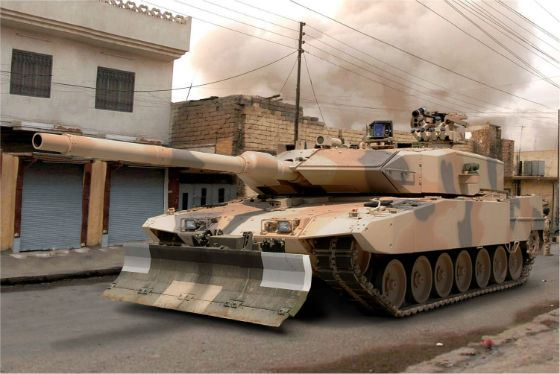 Гордость немецкой армии – Leopard-2 A7