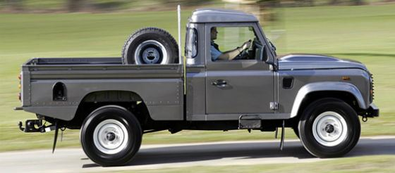 Land Rover Defender Pickup популярен в разных странах