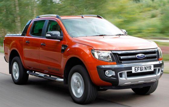 Ford Ranger удобен при езде по бездорожью