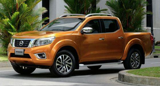 Nissan Navara отличает оригинальный дизайн