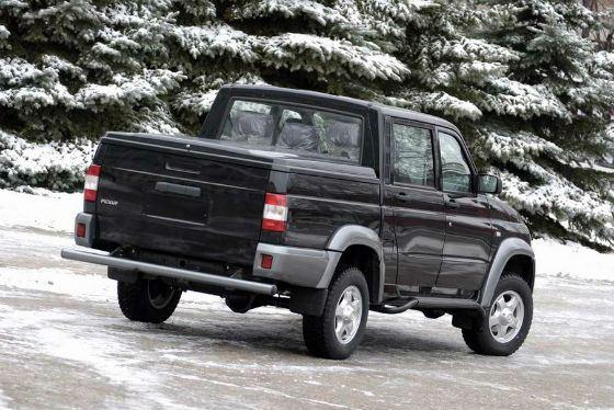УАЗ Pickup создан для российских дорог