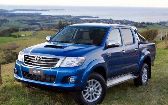 Toyota Hilux проста в обслуживании