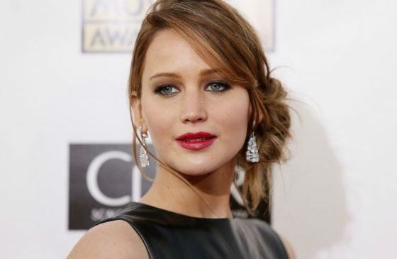 The Hunger Game's star Jennifer Lawrence