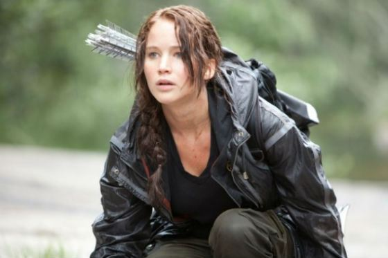 Huger Games and Katniss made Jennifer Lawrence famous