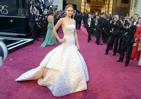 Jennifer Lawrence. Oscar-2013