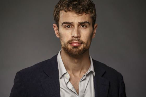 Theo James became an actor by lucky chance