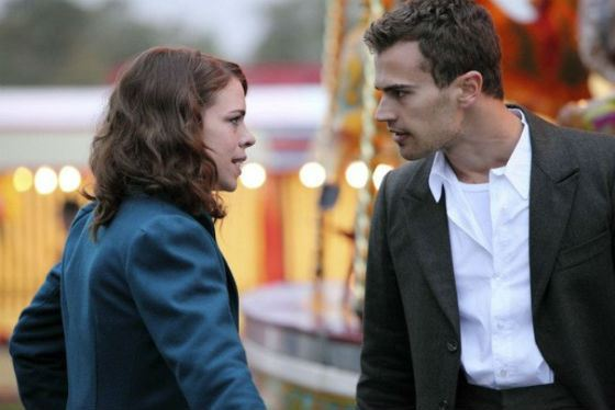The series «Passionate woman» – was the first role of Theo James