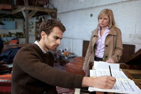 Theo James in the TV series «Case Sensitive»