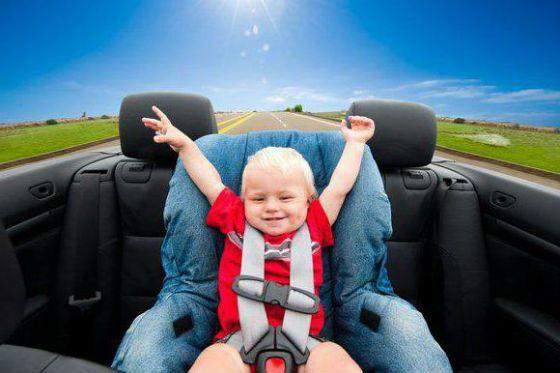 Дети любят путешествовать