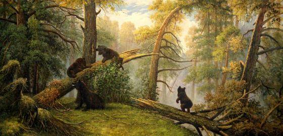 """""""Çam ormanında sabah"""""""