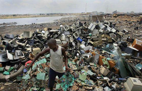 Агбогблоши: электронные отходы