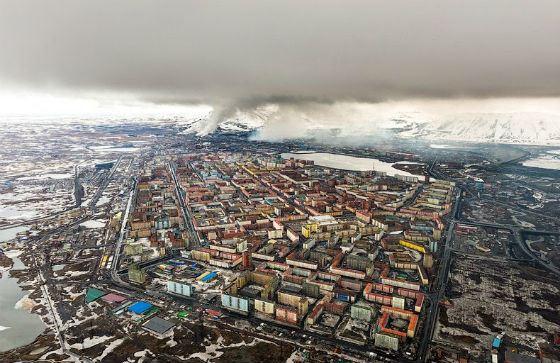 Норильск: тяжелые металлы