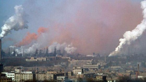 Линьфэнь: угольное загрязнение